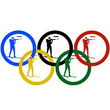 Biathlon and Olympic rings-1