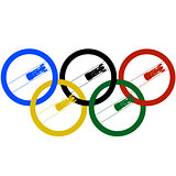 Bobsleigh and Olympic rings-1