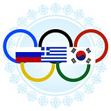 Flags of the Winter Olympics