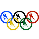 Hockey and the Olympic rings-2