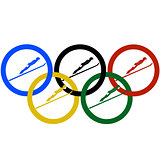 Jumping and Olympic rings-1