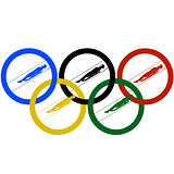 Luge World and Olympic rings-1