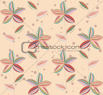 abstract flowers petal