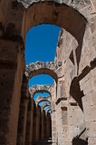 Colosseum in El-Jem, Tunisia