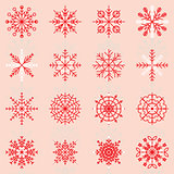 Create snowflake icons with reflect