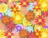 Flowery painting