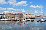 Helsinki. North Harbour