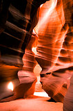 Antelope Canyon Navajo Rock Slot Formation Utah Southwest USA