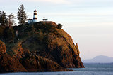 Pacific Coast Lighthouse Cape Disappointment Pacific Coast Ocean