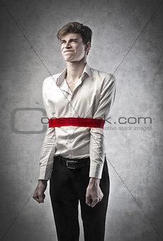 Tied Boy