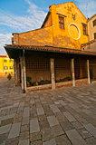 Venice Italy San Nicolo dei mendicoli church