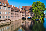 Nuremberg, Germany on the Pegnitz River