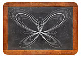 butterfly curve on blackboard