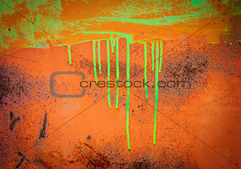 Abstract old rusty metal background