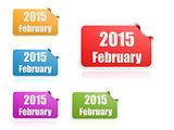 February of 2015