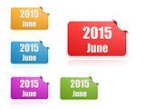 June of 2015