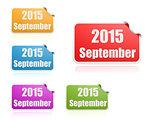 September of 2015