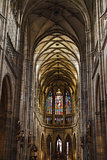 St Vitus Cathedral in Prague.