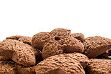 Chocolate cookies pile
