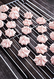 Meringues on the rack