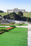 Gardens at the Schonbrunn Palace in Vienna, Austria