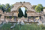 Roman ruin in the Schonbrunn gardens