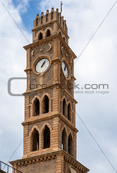 old clock tower akko israel