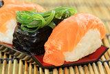 delicious Japanese sushi