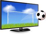 Smart Tv and Football