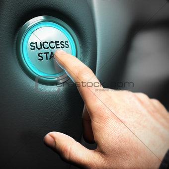 Business Success Concept, Motivational Picture
