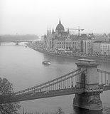 Budapest cityscape.