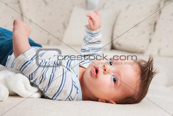 3 months old baby boy