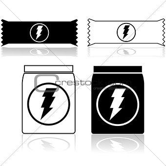 Power bar and powder