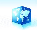 Square globe cube