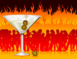 martini in hell