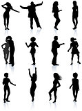 Party People Silhouette Collection