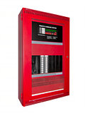 Fire alarm control box, isolated