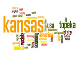 Kansas word cloud