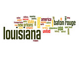 Louisiana word cloud