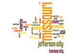 Missouri word cloud