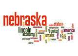 Nebraska word cloud