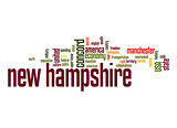 New Hampshire word cloud