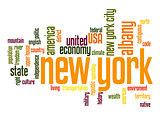 New York word cloud
