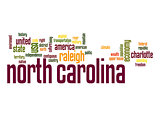 North Carolina word cloud