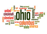 Ohio word cloud