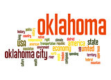 Oklahoma word cloud