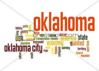 Oklahoma word cloud