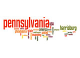 Pennsylvania word cloud