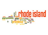 Rhode Island word cloud