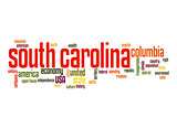 South Carolina word cloud